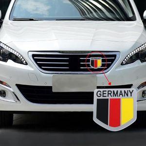 Akachafactory Fanion Mini Drapeau Pays Voiture Decoration Allemagne Allemand