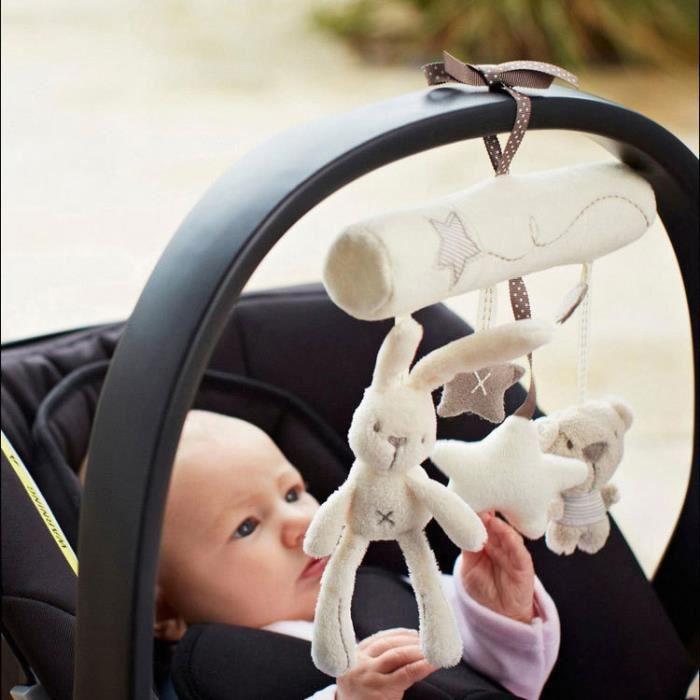 Jouet De Premier Age Portique D'Éveil Mobile Baby Car Musique Accroché Suspendu sur le Lit Landau Poussette