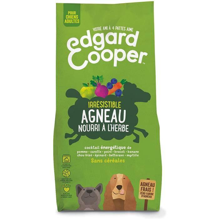 Nourriture pour chiens Edgard & Cooper, Croquettes Chien sans Cereales Hypoallergénique, Nourriture Chien Adulte Naturel 36602