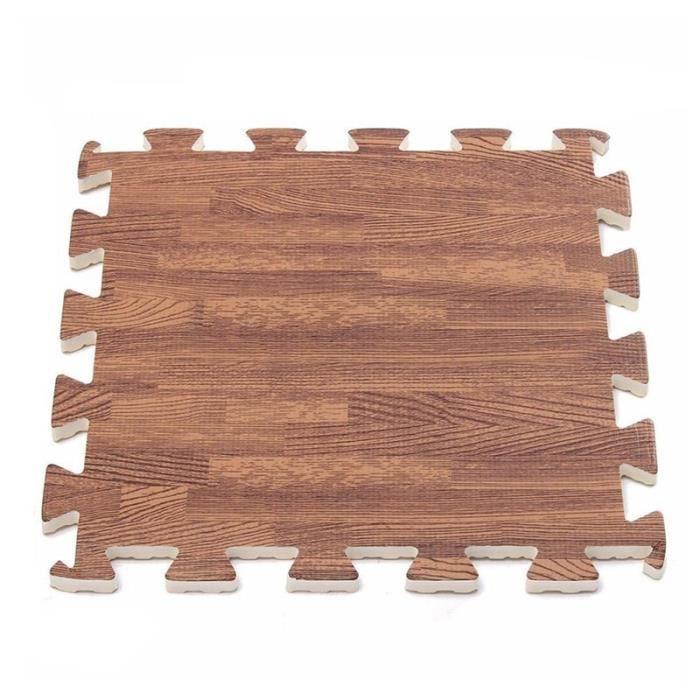 9 pièces EVA mousse exercice de verrouillage revêtement de sol de gymnastique tapis de sol Promotion de grain profond