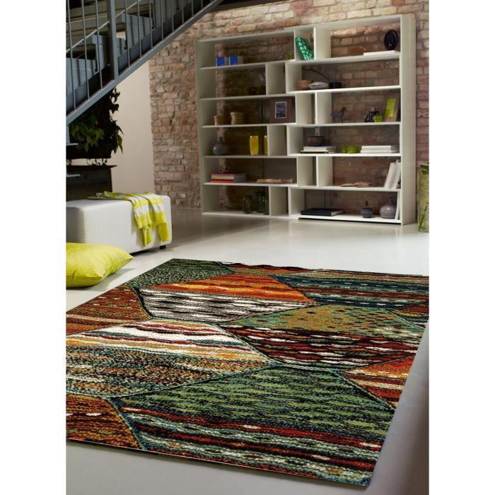 Tapis salon ATLAS vert 120x170, par Esprit, Tapis moderne