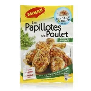 Papillote poulet herbes 34 g MAGGI