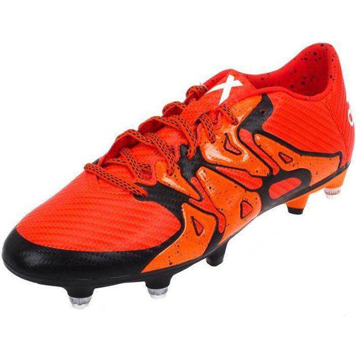 Chaussures football vissées X15.3 sg org/nr visse
