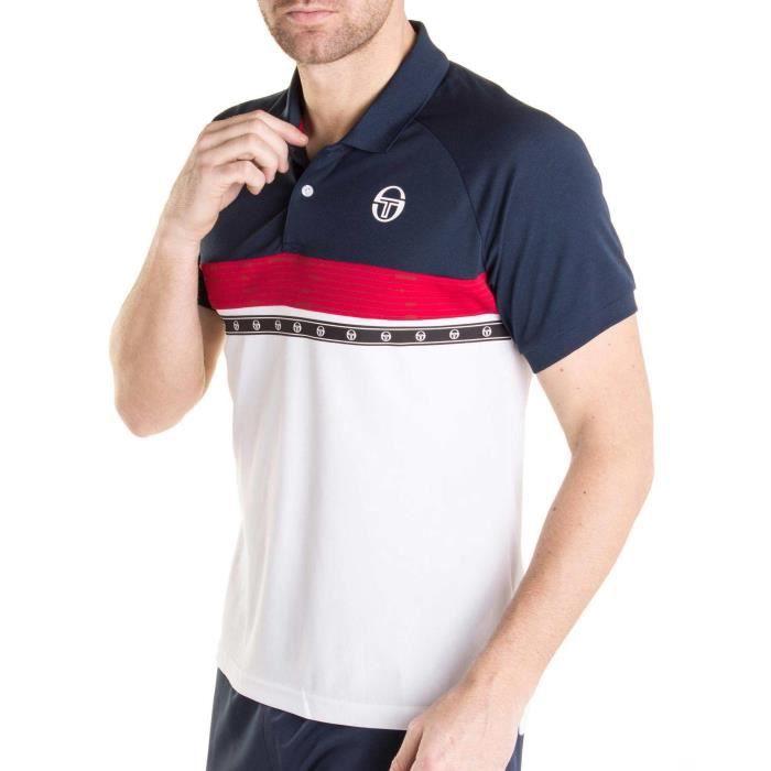 Polo CANDIS manches courtes de marque multicolor