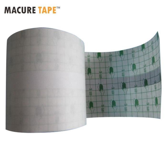 PROTEGE-CHEVILLES - CHEVILLERE,Plâtre adhésif imperméable à l'eau Transparent ruban de Fixation - Type Transparent 1 roll-10cmx10m