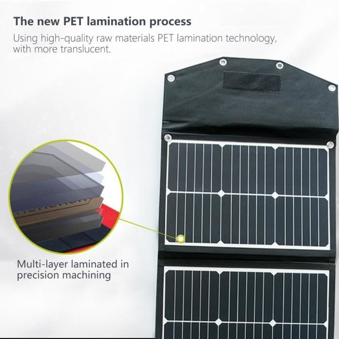 Générateur d'énergie portable Station de secours de secours avec 110 V - 220 V Double sortie CA Rechargebale Batterie au lithium