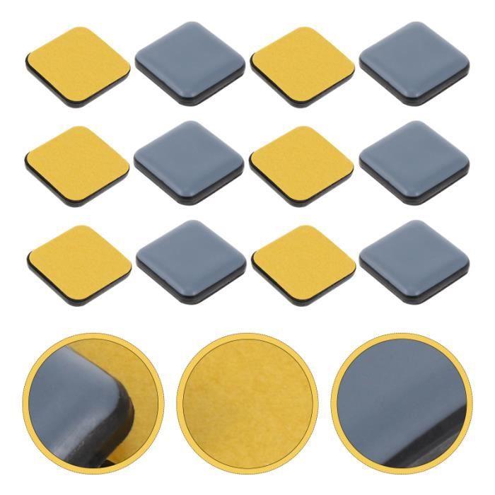 16pcs Meubles Jambes Pieds Inférieurs Carrés Tapis de de Sol Non Patiné (20mm) tapis de sol confort conducteur passager