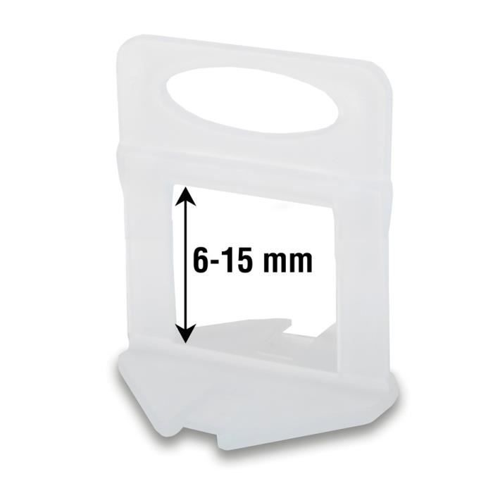 Bases RUBI Delta pour carreaux 5-16 mm d'épaisseur (3 mm - 400 un.)