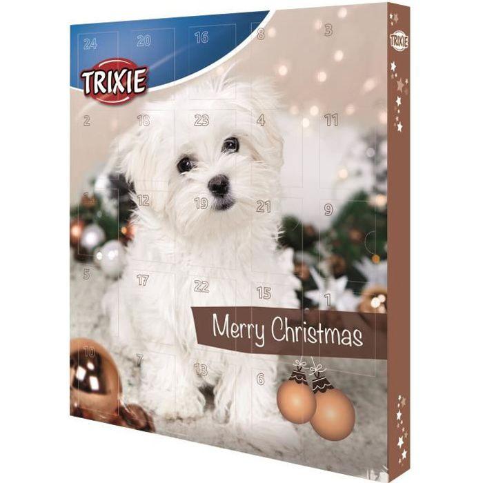 TRIXIE Calendrier de l'Avent - Marron - Pour chien