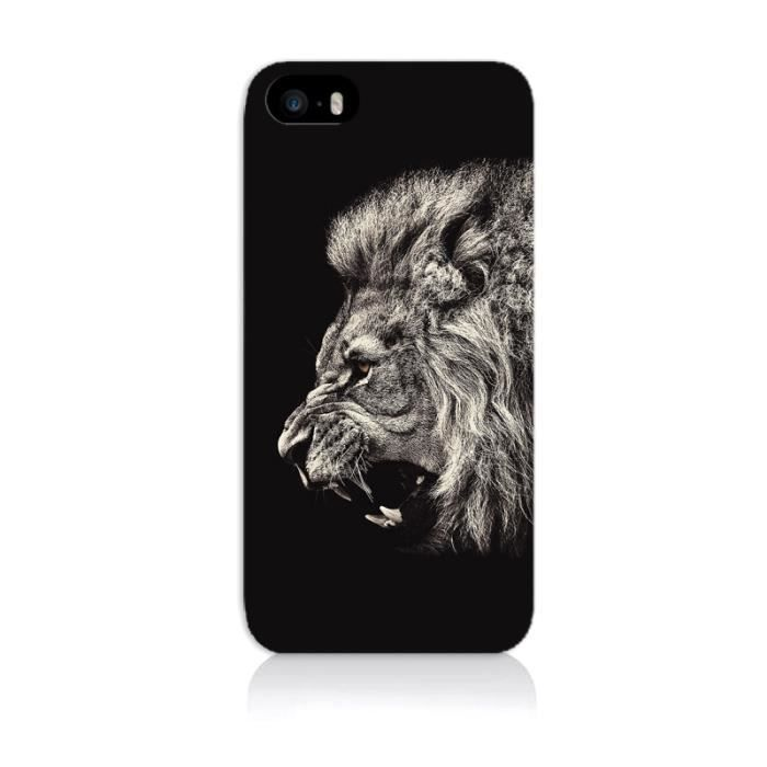 coque iphone 5 lion