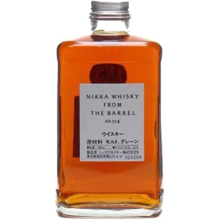 WHISKY BOURBON SCOTCH Nikka from barrel 50 cl 51.4°