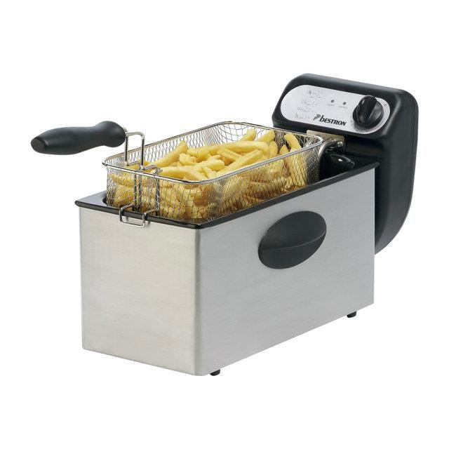 Bestron Friteuse Zone Froide Inox 3,5l AF350 - Achat / Vente ...