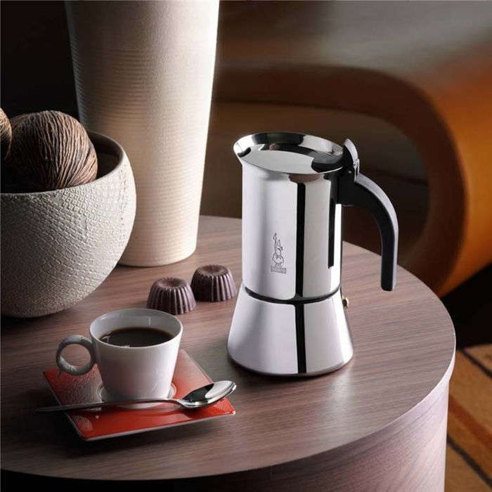 bialetti cafeti re inox 6 tasses venus induction achat vente cafeti re th i re cdiscount. Black Bedroom Furniture Sets. Home Design Ideas