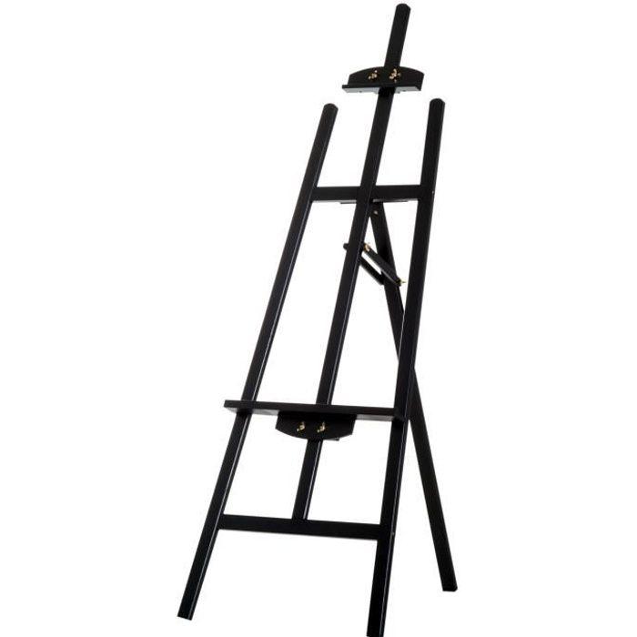 CHEVALET DE PEINTRE Chevalet d'artiste sur pieds inclinaison réglable