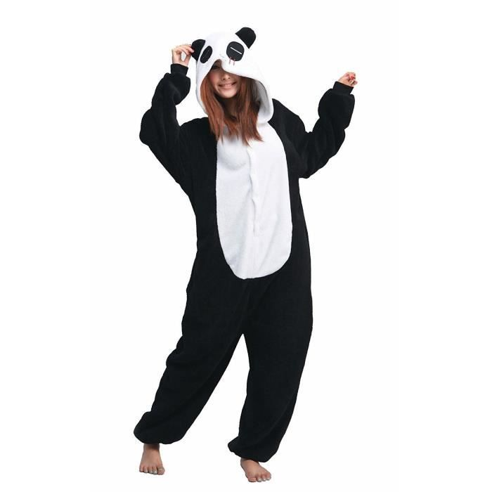 kigurumi panda d guisement combinaison pyjamas grenouill re achat vente d guisement. Black Bedroom Furniture Sets. Home Design Ideas