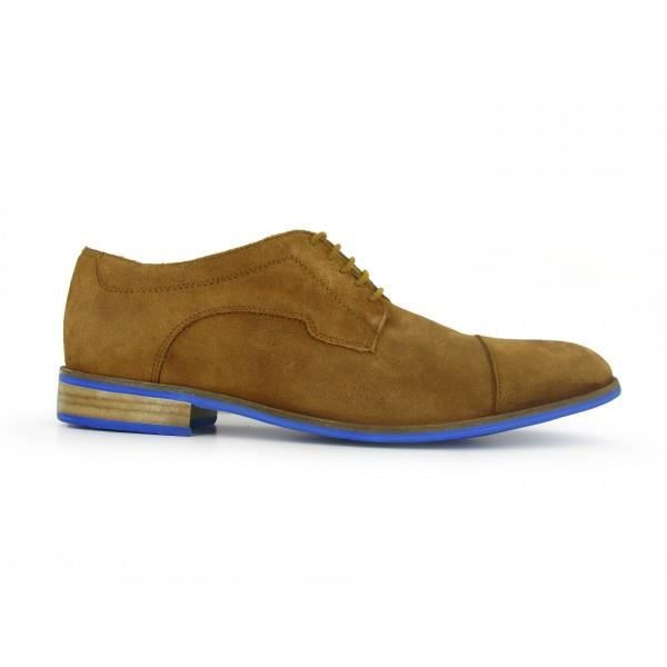 J.BRADFORD Chaussures Derby JB-MAINDY Sable - Couleur - Marron