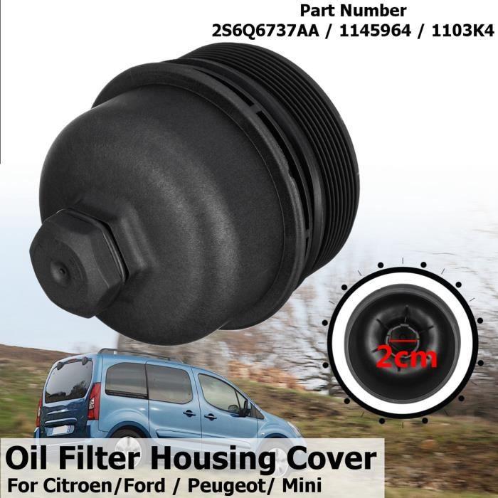Bo/îtier Filtre /à Huile 2S6Q6737AA 1145964 1103K4 pour Ford Peugeot Citroen