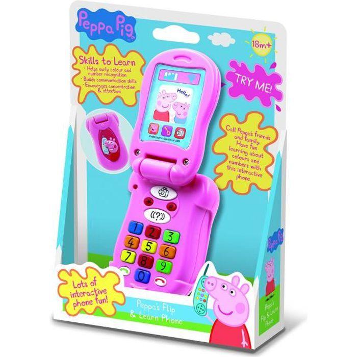 Outlet Peppa Pig Pp06 Flip Et D Apprendre Telephone Jouet Electronique Achat Vente Instrument De Musique Cdiscount