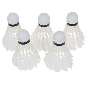 SODIAL 3 x Volant de Badminton LED Lumiere Rouge pour la Nuit R