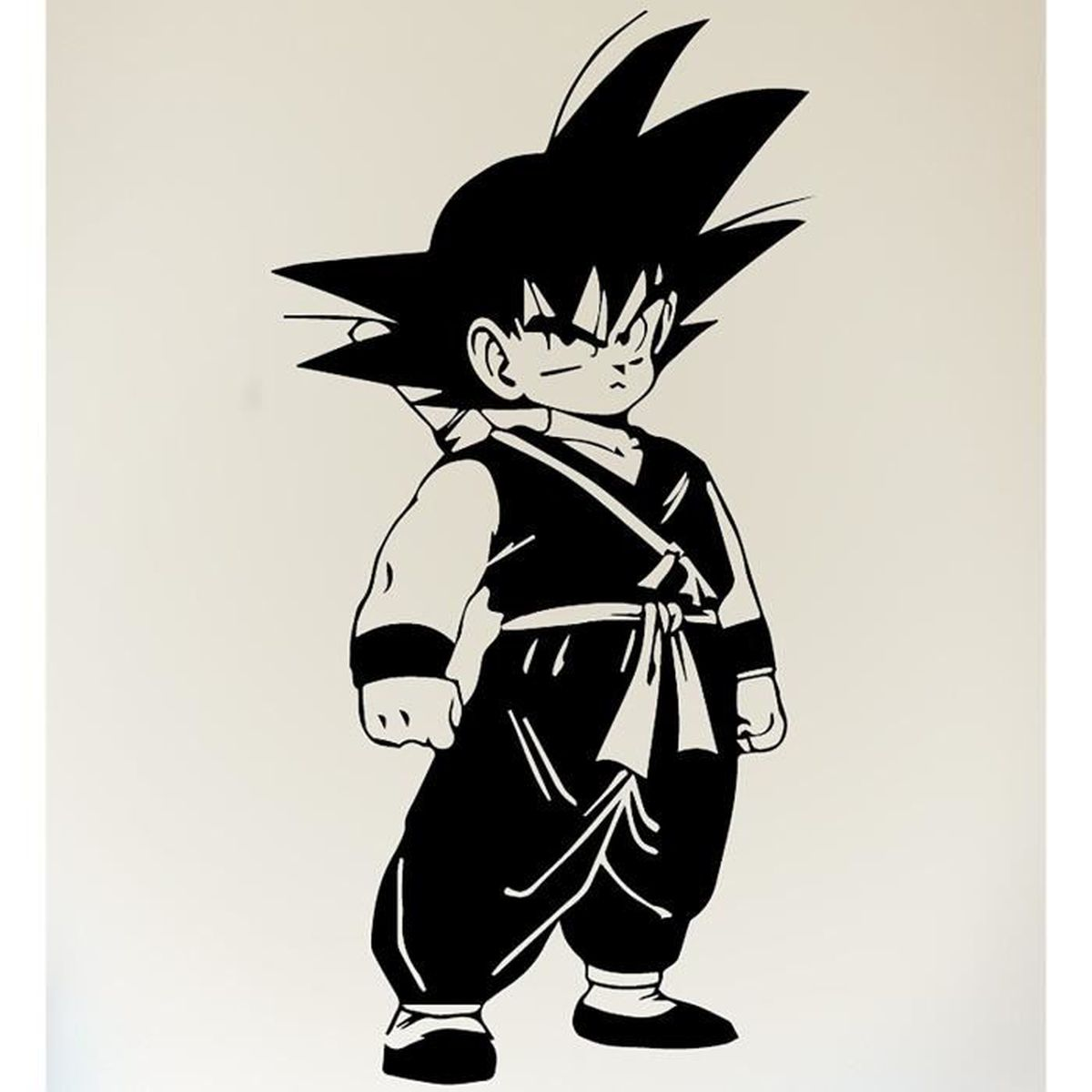 Son Goku Sticker Autocollant Dragon Ball Z Dbz Manga