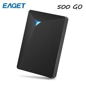 DISQUE DUR EXTERNE EAGET-G20 [500 Go] Disque dur externe USB 3.0