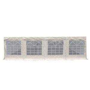 BACHE Bâche d'abri vitrée PVC 480g-m² multifonction - lo