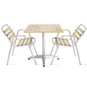 TABLE DE JARDIN  Ensemble salon de jardin terrasse - table de jardi