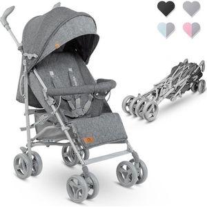 POUSSETTE  LIONELO Poussette canne bébé inclinable et pliable