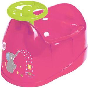 POT DBB REMOND Pot bébé - Décor éléphant avec volant -