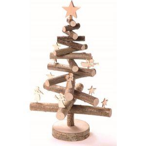 SAPIN - ARBRE DE NOËL Sapin de Noël 30 cm en bois avec figurines