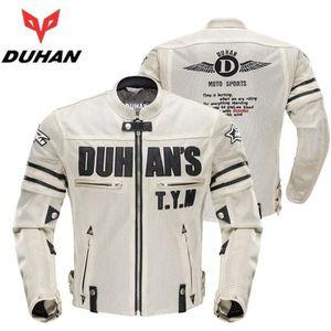 BLOUSON - VESTE DUHAN Summer Men's Motorcycle blouson Motocross Of