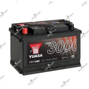 BATTERIE VÉHICULE Batterie auto, voiture YBX3086 12V 75Ah 650A Yuasa