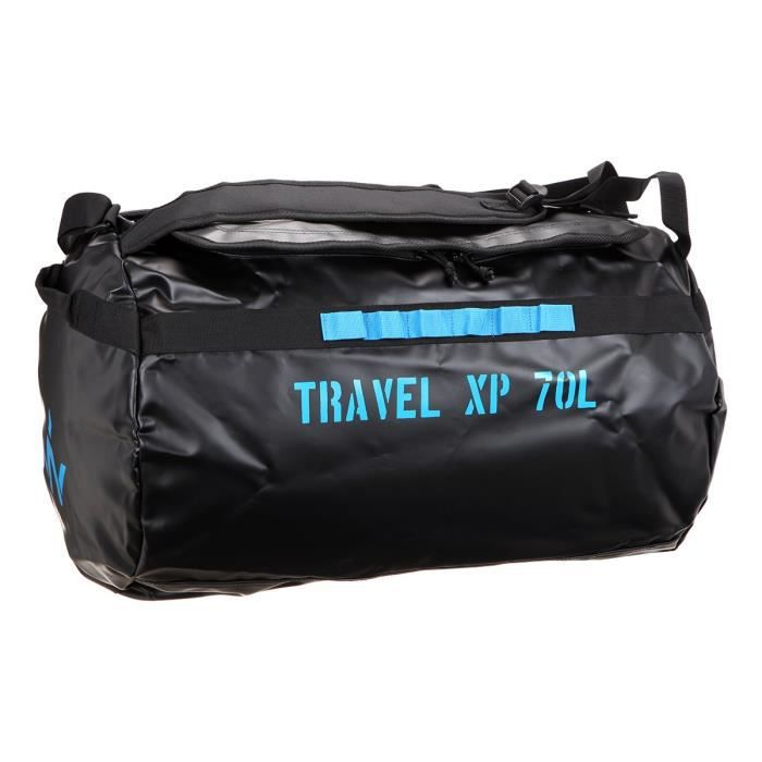 WANABEE Sac de voyage Travel XP 70 L - Noir et jaune doré