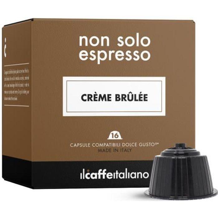 48 Capsules compatibles Nescafé Dolce Gusto - Crème brûlée - Il Caffè Italiano