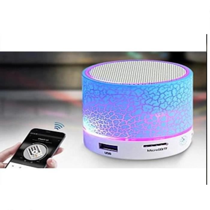 Haut-parleur solaire de Bluetooth
