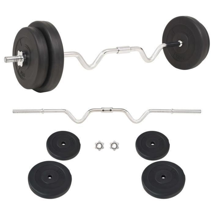 LIZ® Ensemble d'haltères 30 kg