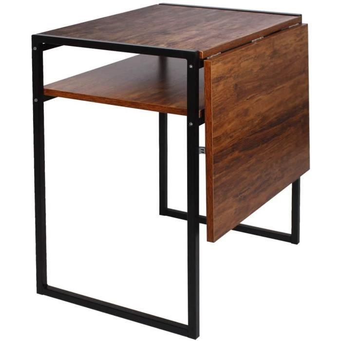 Table de salle à manger pliable, table compacte pour petits espaces, table extensible multifonction, station de travail pour ord191
