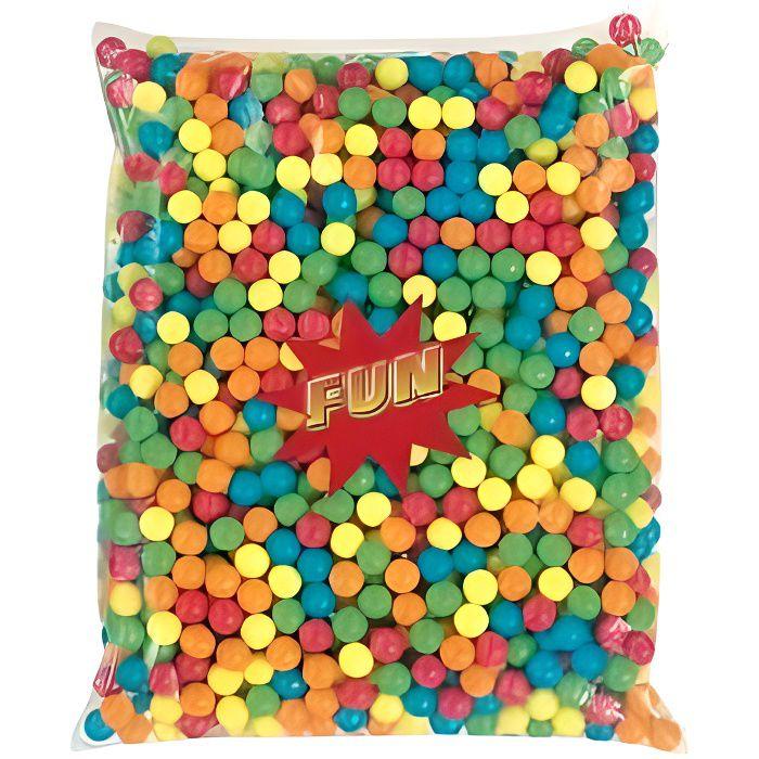 Billes de chewing gum sachet de 2,5 kg T 20 mm