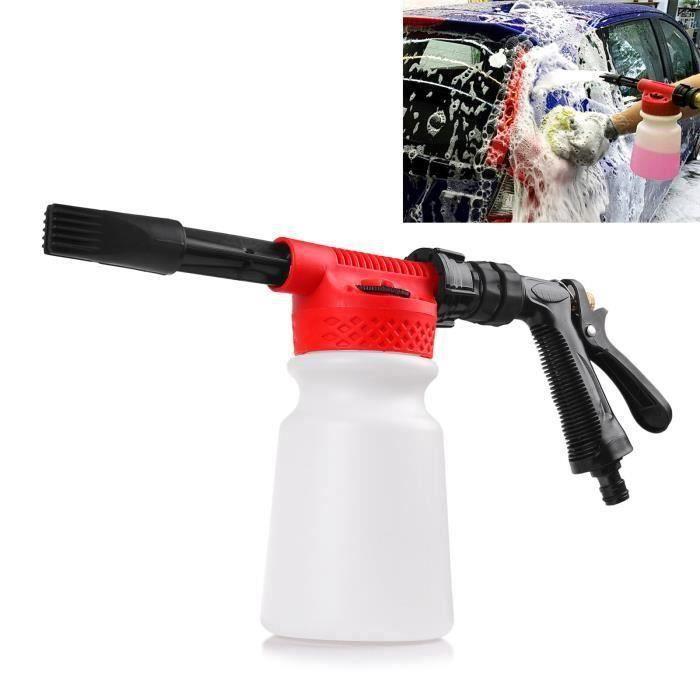 900ml Canon à mousse Pistolet mousse Pistolet de lavage Lave-Foamaster Lance mousse Pulvérisateur de savon pour Nettoyage de voiture