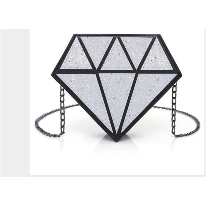 Femmes mode hologramme clair sacs fourre tout Transparent Messenger sac à main + sac intérieur~6*BU25320