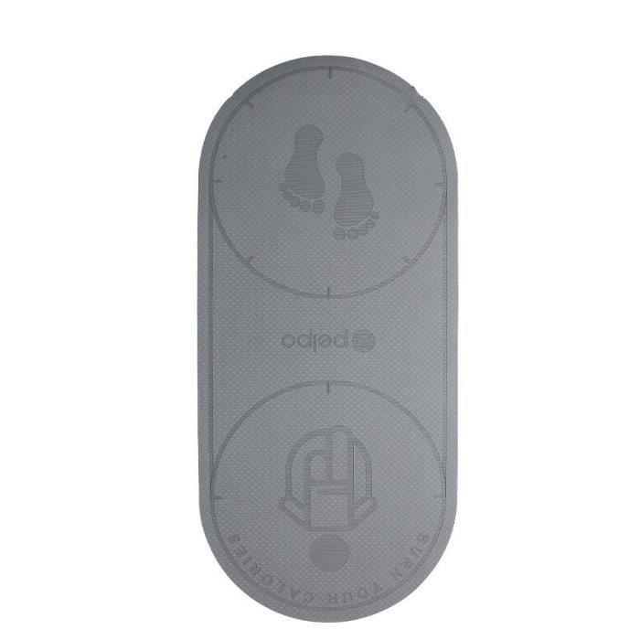Tapis de sol,Tapis de Yoga antidérapant TPE, corde à sauter, entraînement au sol, coussin de sport silencieux, texture - Type gray