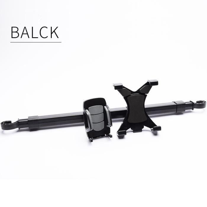 Supports voiture,Support de téléphone de voiture Support de voiture-camion siège arrière appui tête Support de - Type black