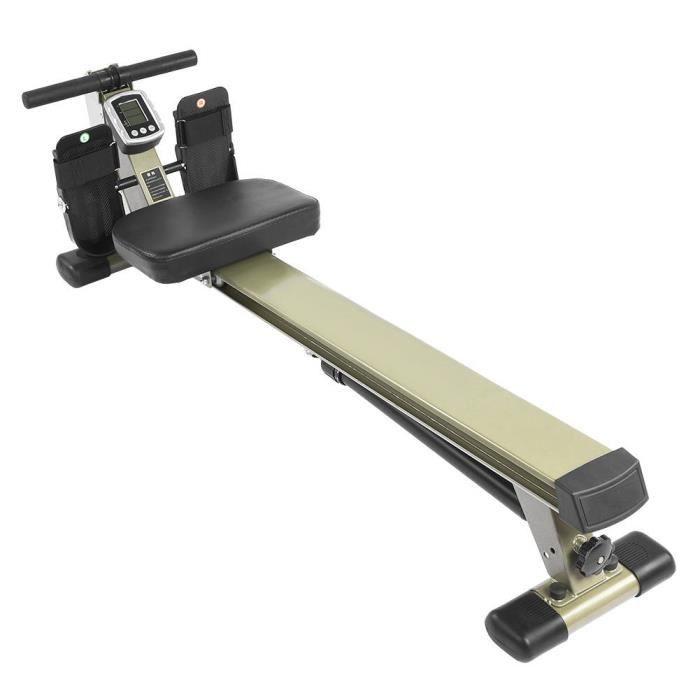 Cocoarm rameur rameur avec tableau de bord intelligent rameur pour équipement d'entraînement à domicile