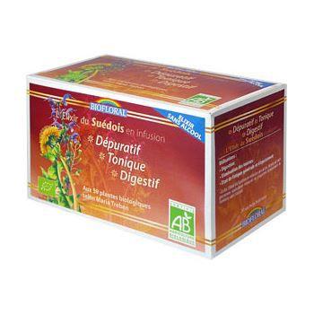 Biofloral Infusion Elixir du Suedois 59 plantes…