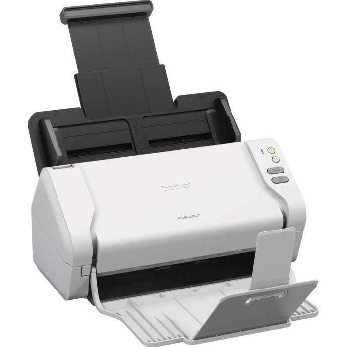 Brother Ads 2200 Scanner de documents bureautique Recto Verso 35 pm/70 ipm Chargeur Adf 50 f