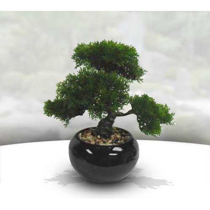 bonsai artificiel pot céramique h.36cm