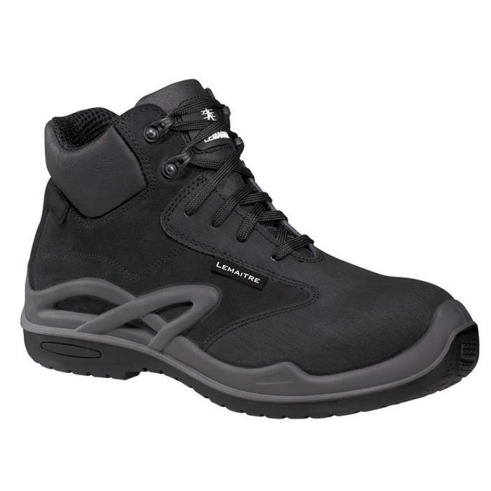LEMAÎTRE CRAZY Chaussures de sécurité haute Roissy S3 CI SRC noir