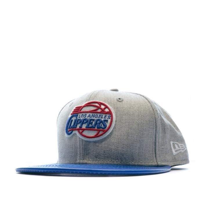 Casquette grise New Era NBA Los Angeles Clippers
