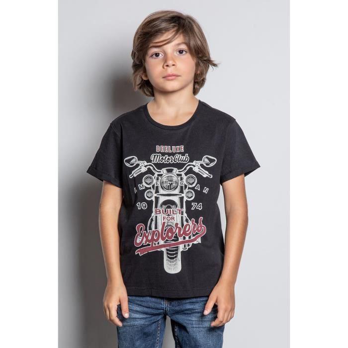 DEELUXE T-shirt imprimé ENGINE Black
