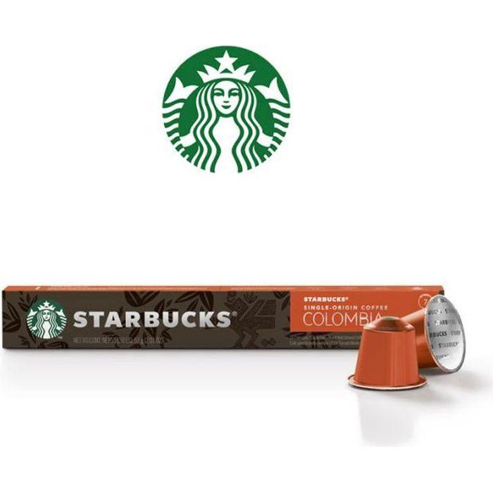 STARBUCKS Capsules Nespresso Colombia x10 - 57 g